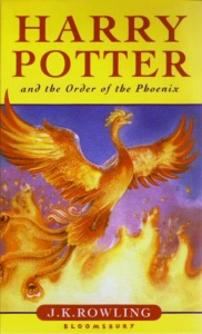 25_ British edition of Harry Potter and Order of the Phoenix